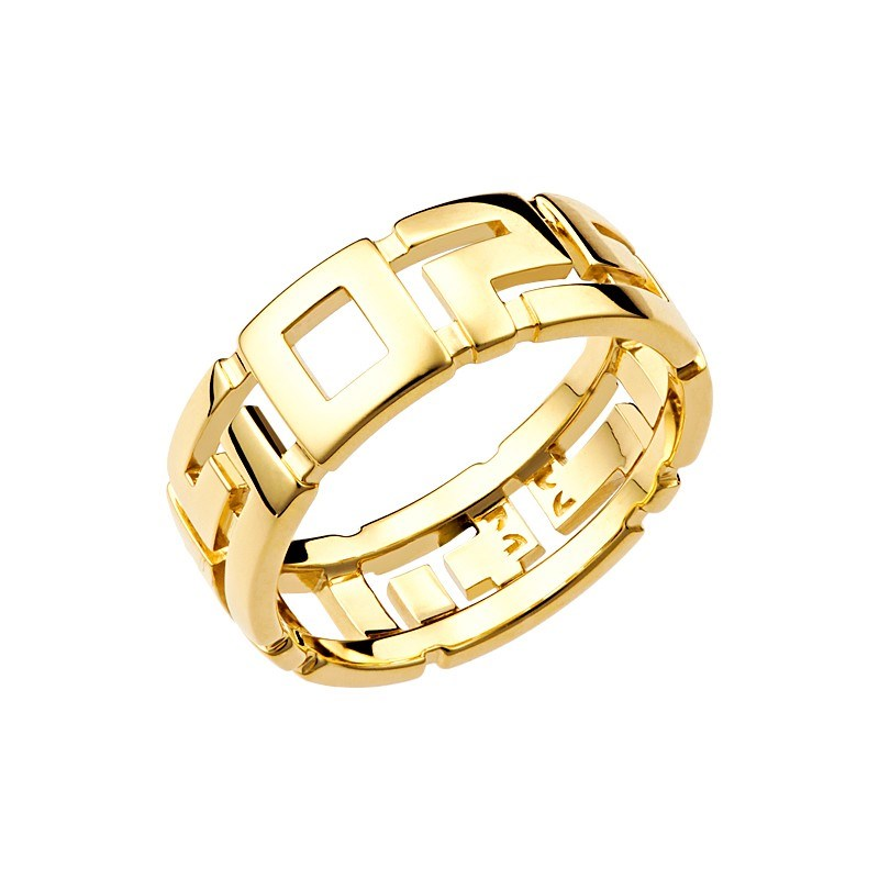 Кольцо из желтого золота - фото 4745
