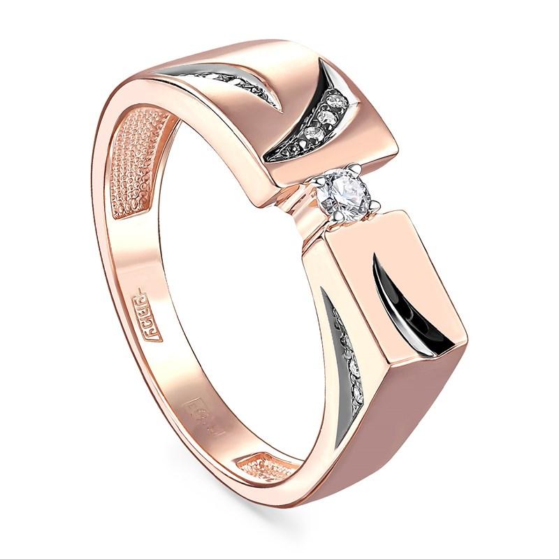 Кольцо из золота с бриллиантами - фото 5780