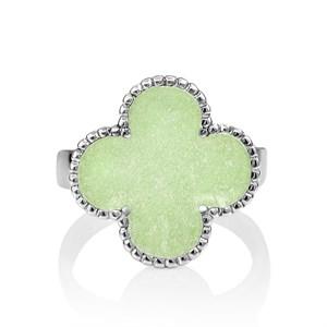 Серебряное кольцо с эмалью - фото 5745