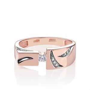 Кольцо из золота с бриллиантами - фото 5781