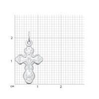 Крест из серебра - фото 5168