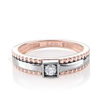 Кольцо из золота с бриллиантами - фото 5583