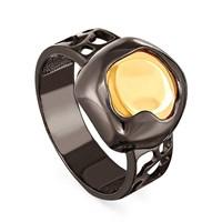 Кольцо из серебра с ситаллом - фото 5742