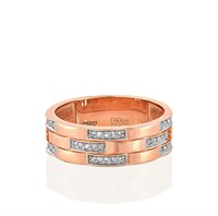 Золотое кольцо с бриллиантами - фото 5847