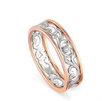 Золотое кольцо с бриллиантом - фото 5850
