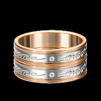 Кольцо обручальное - фото 7811